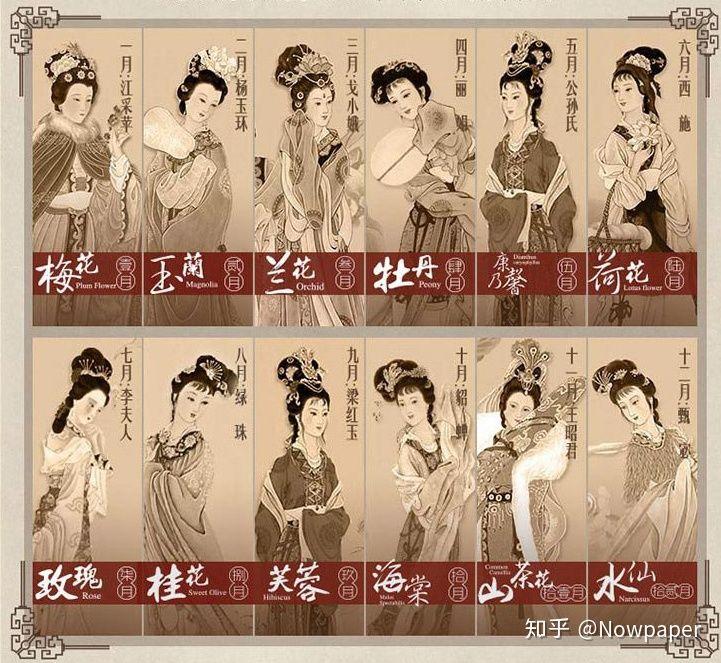 China's flower goddesses