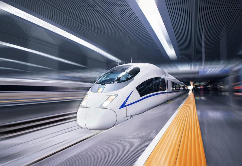 China's high speed rail. Credit: Sina technology