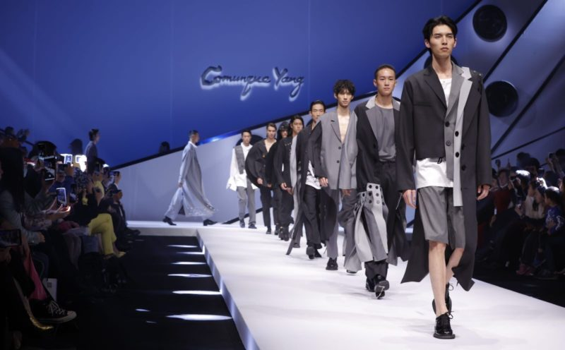 China International Fashion Week launches.Credit: KongYang