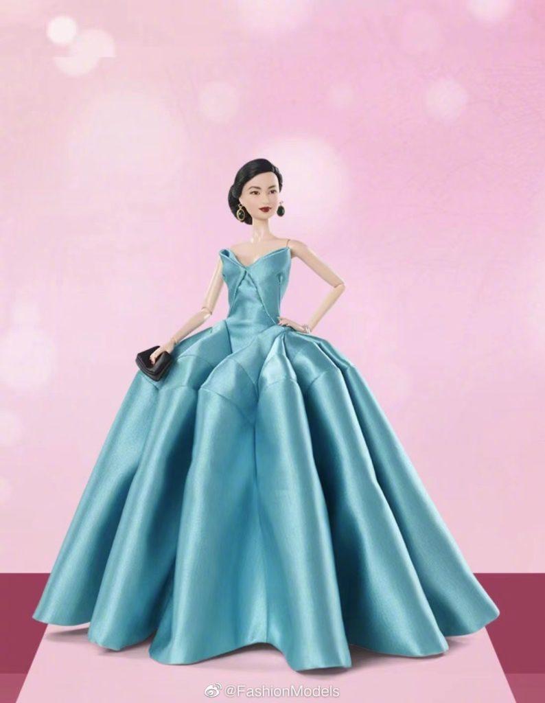 Model Liu Wen gets her own Barbie