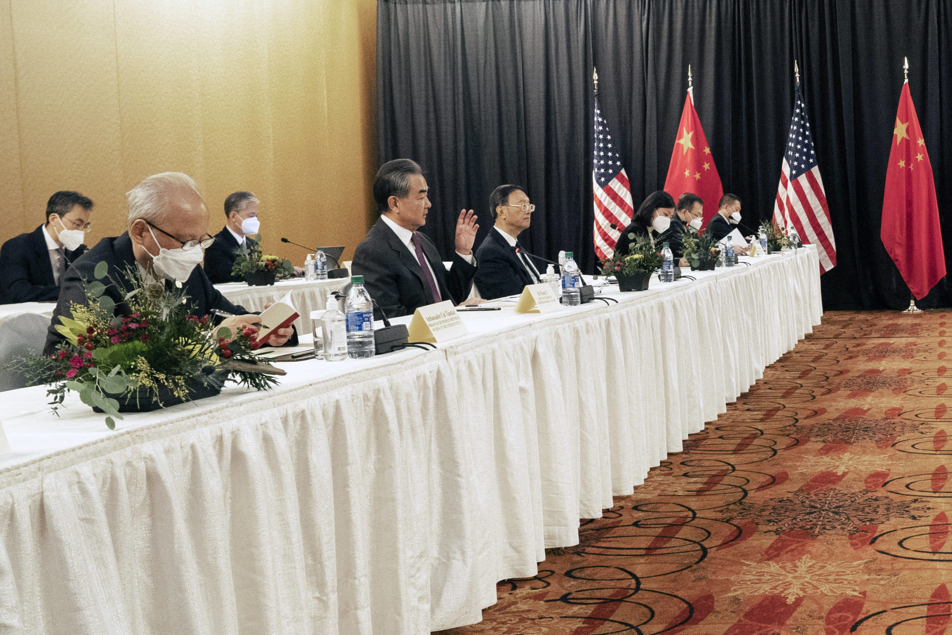 US-China Alaska talks. Credit: Sohu