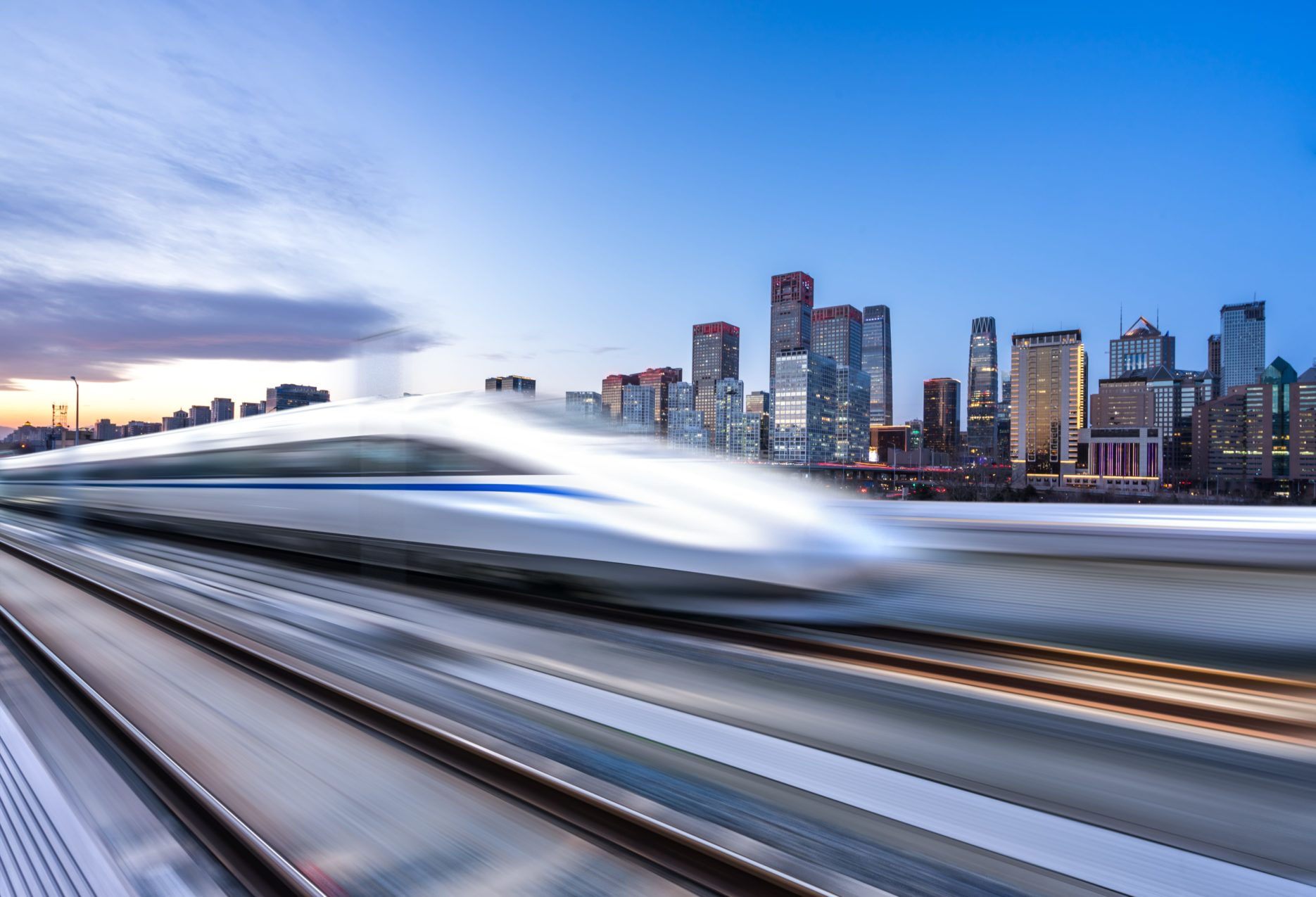 China's High speed rail network. Credit: Adobe Stock