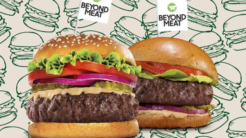 Plant-based burger. Credit: Beyond Meat