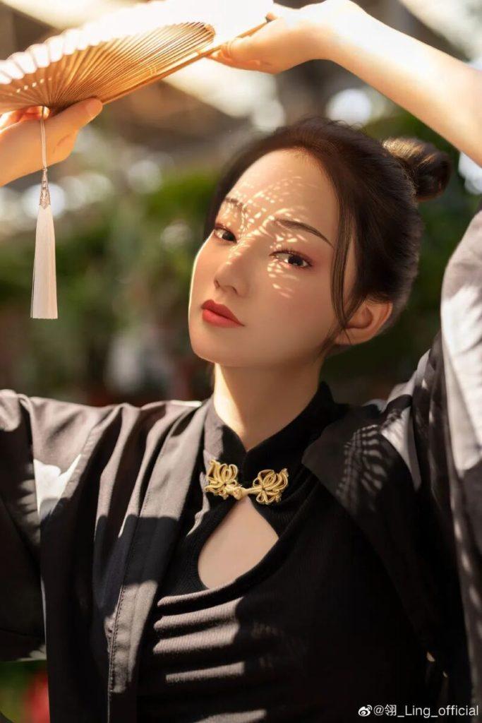 Chinese virtual KOL Ling