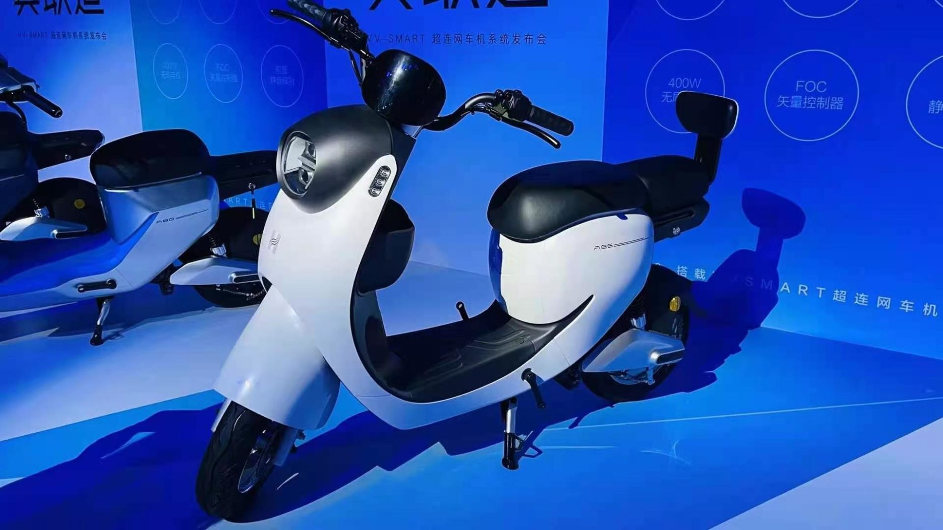 Hellobike's new electric vehicles Credit: Hellobike