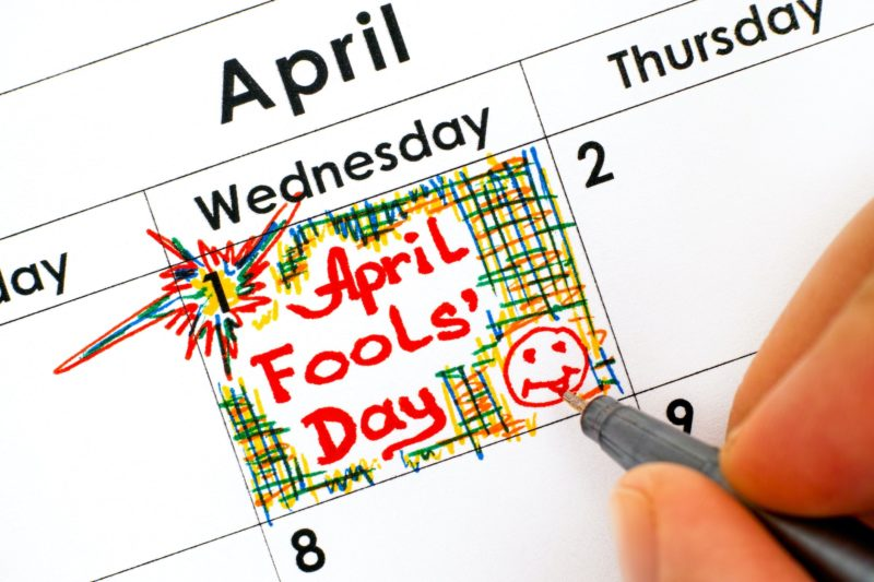 April Fool's Day. Credit: farmersalmanac