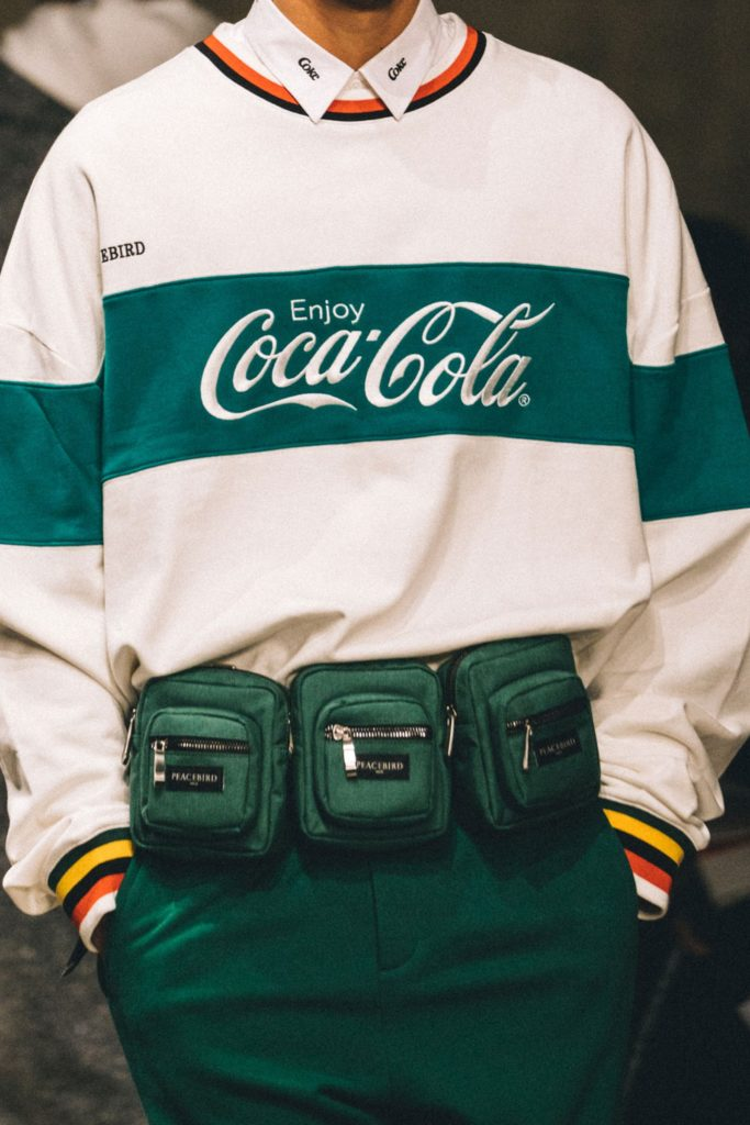 Peacebird and Coca-Cola's co-branded collection
