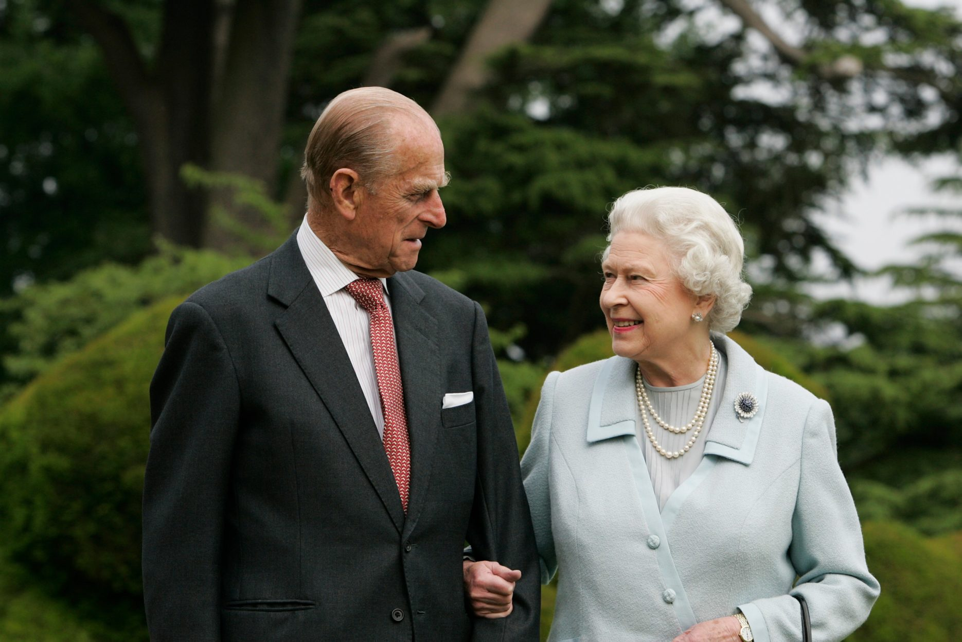 Prince Philip and Queen Credit: Royal Family