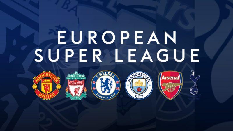 European Super League formed. Credit: European Super League