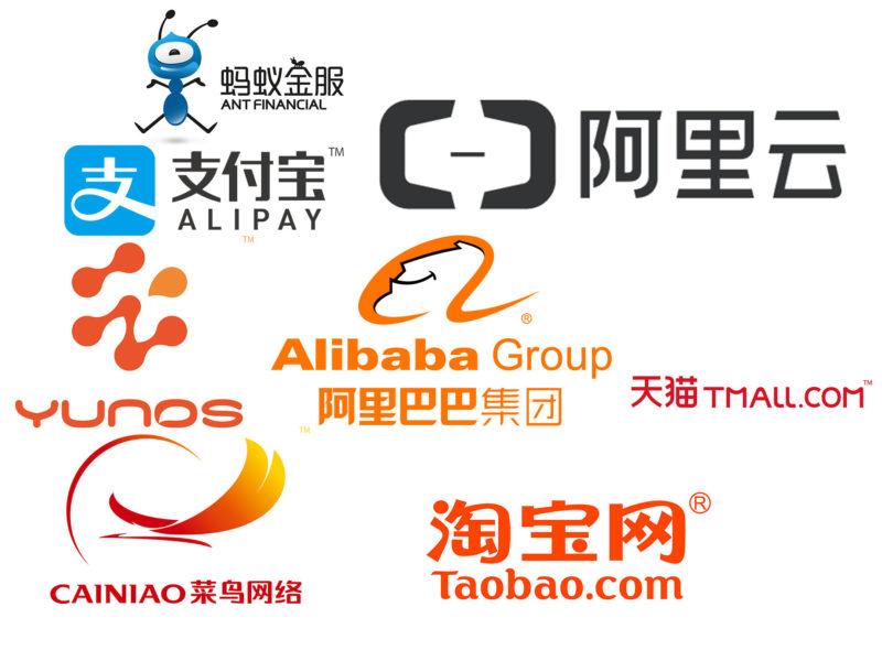 Alibaba's expansive potfolio. Credit: 娱乐新闻网
