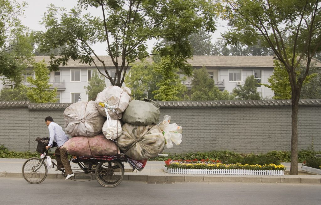 Waste in China. Credit: Adobe Stock