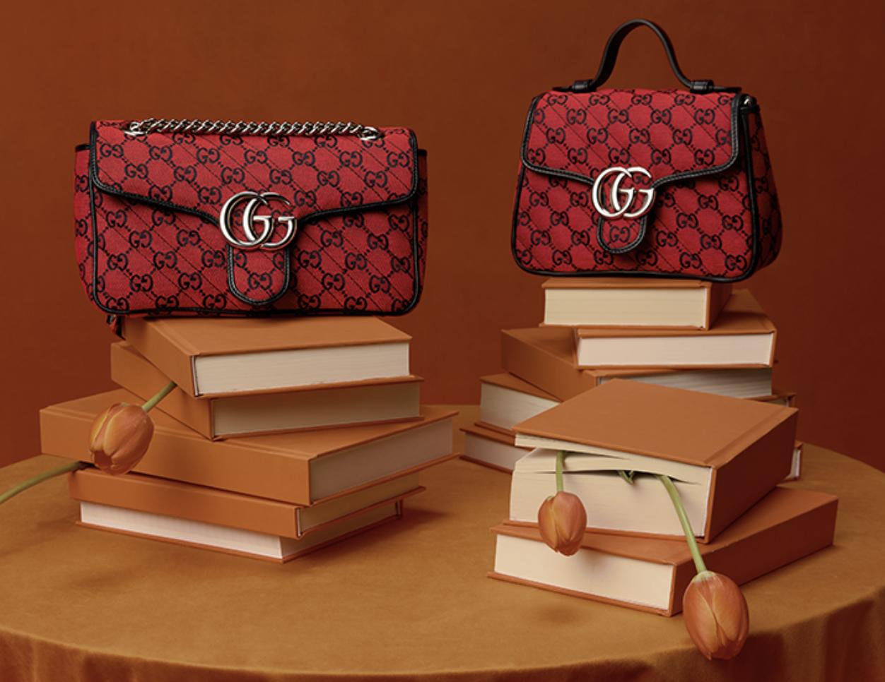 Gucci's 520 campaign. Credit: GUCCI