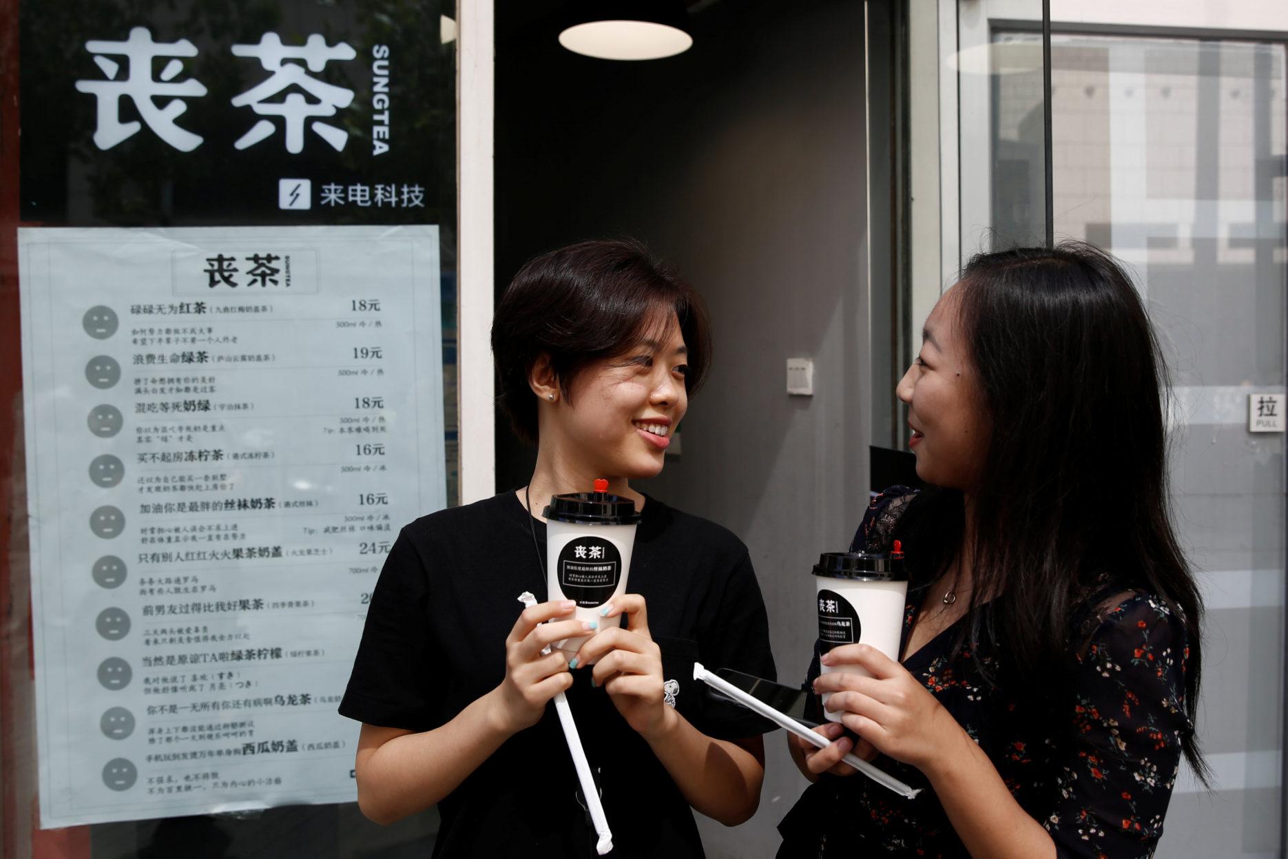 Sang culture in China. Credit: Reuters