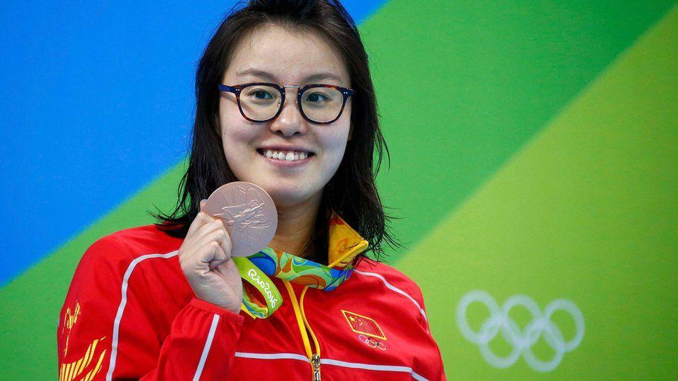 Swimmer Fu Yuan Hui