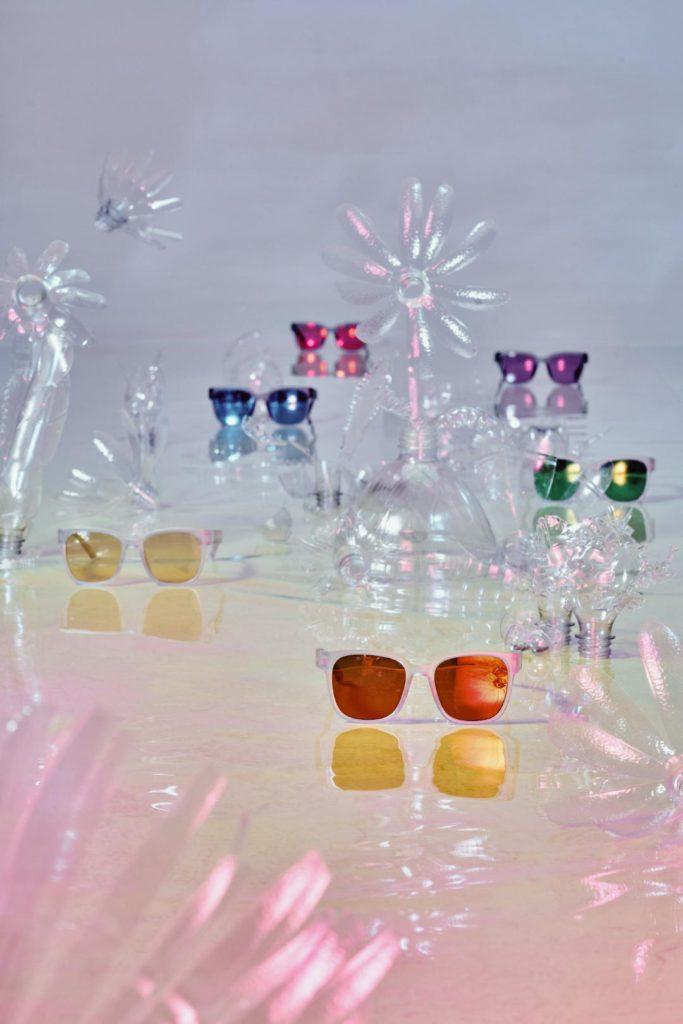 Coca-Cola's rainbow glasses