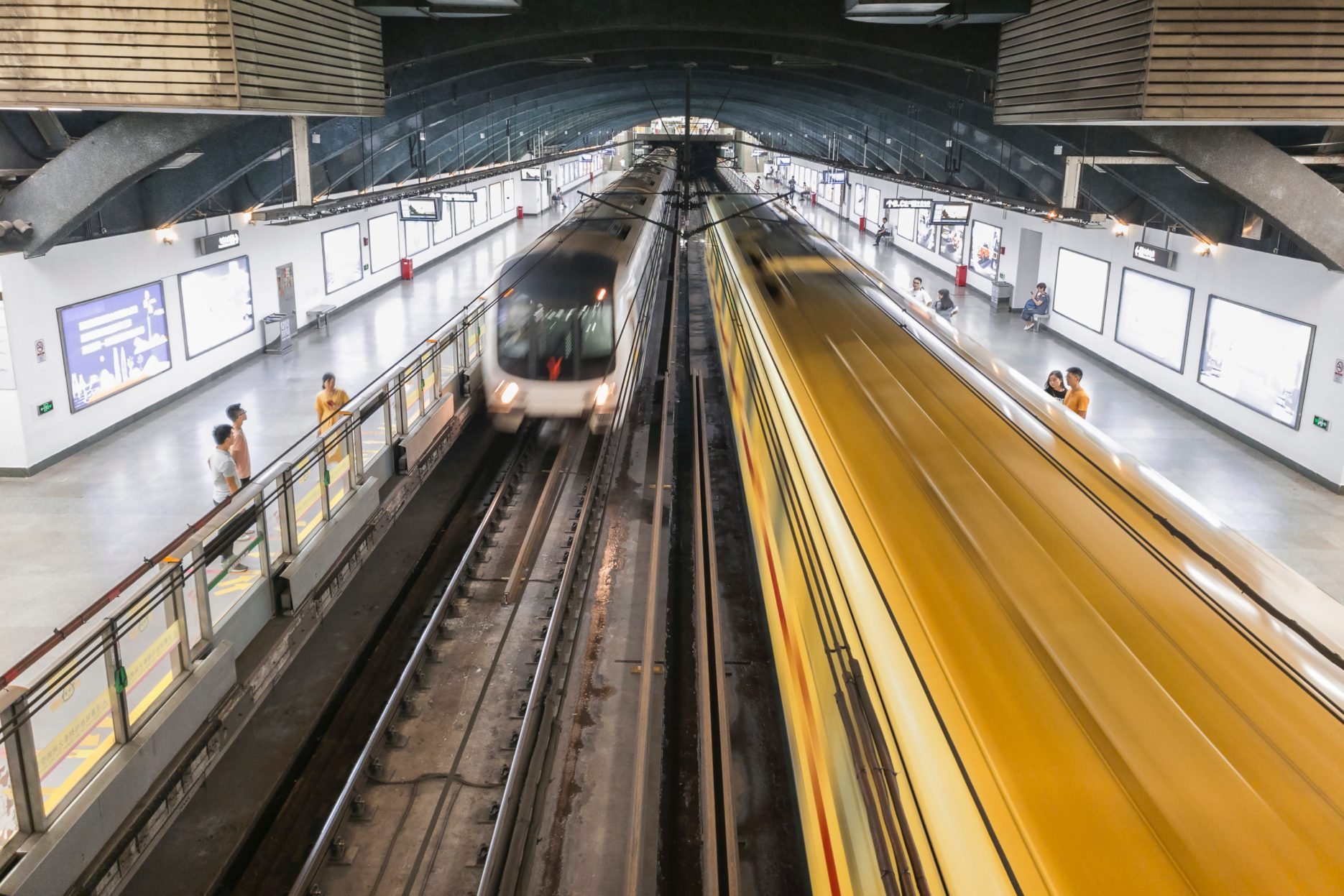 Chinese metro. Credit: Unsplash