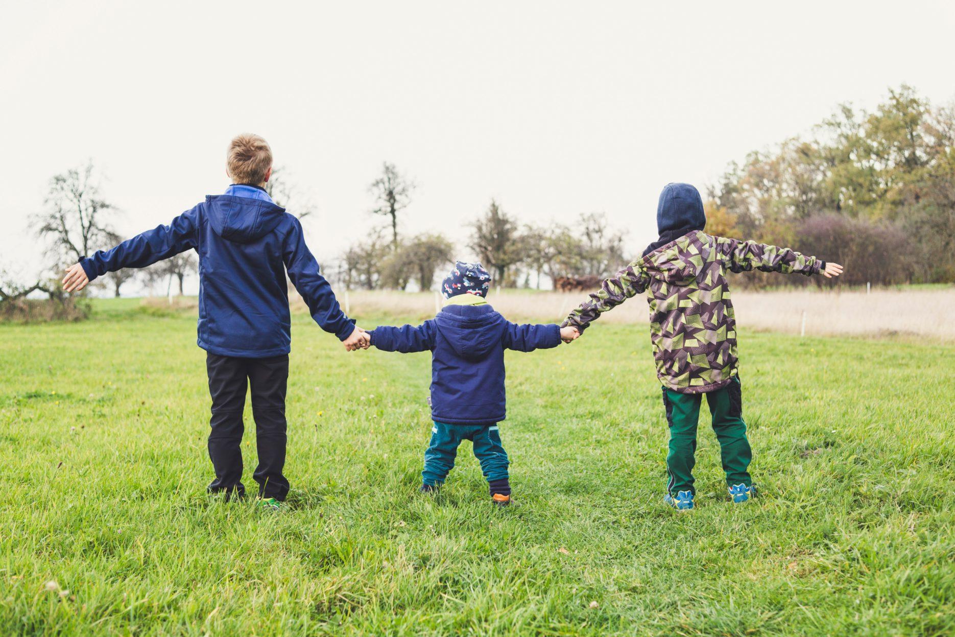 Children playing. Credit: Unsplash
