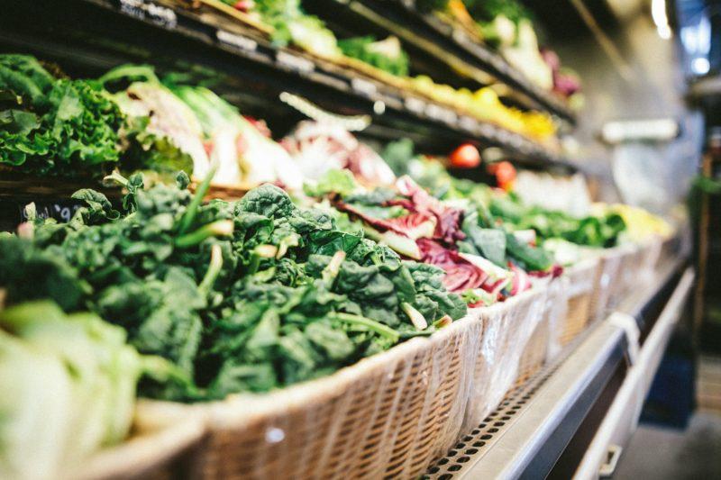 Fresh fruit and vegetable. Credit: Unsplash