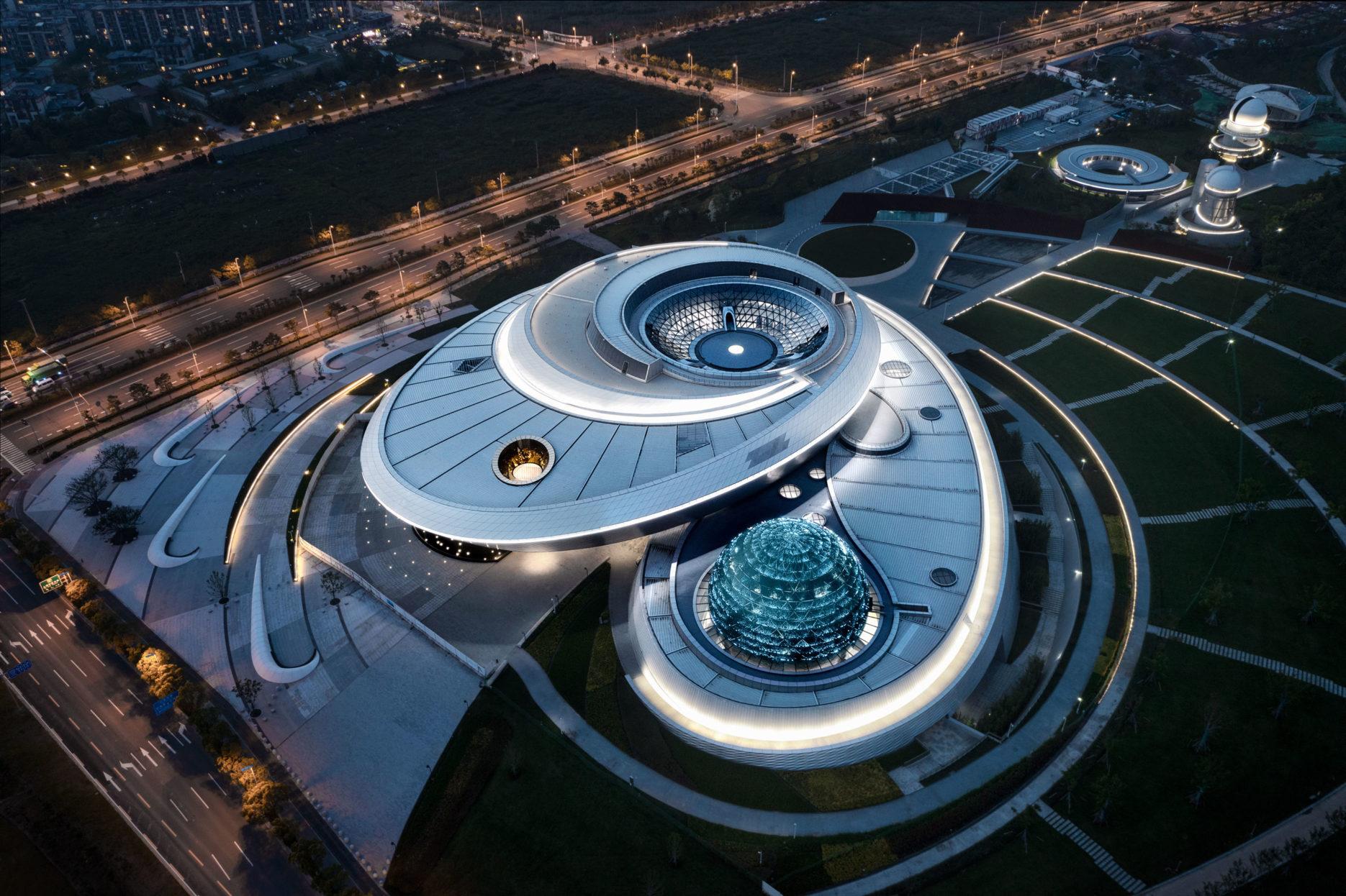 Shanghai Astronomy Museum. Credit: ennead
