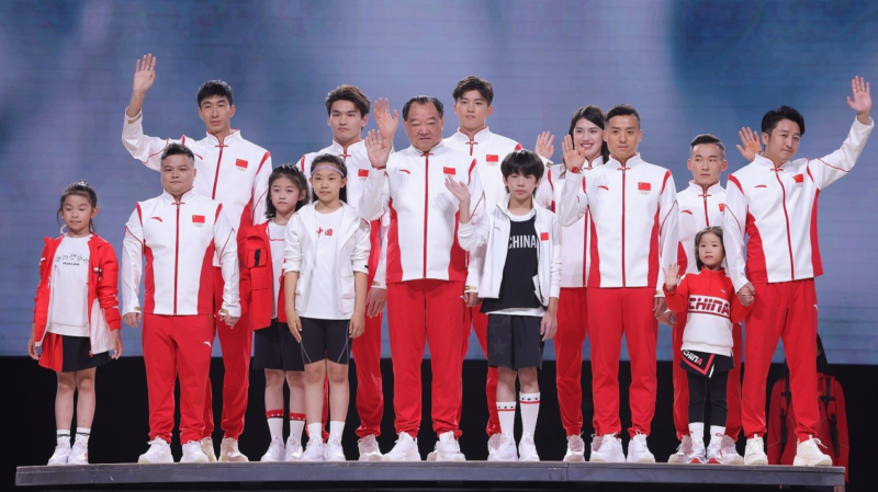 China delegation to Olympics