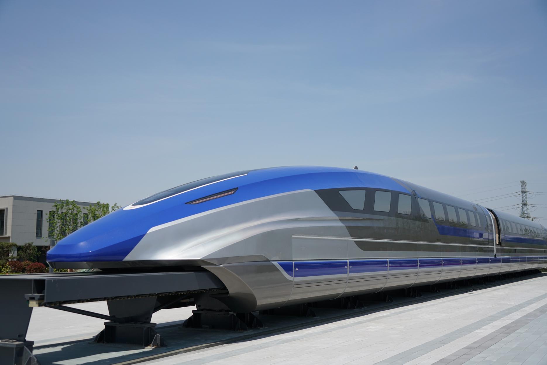 Maglev train. Credit: Xinhua