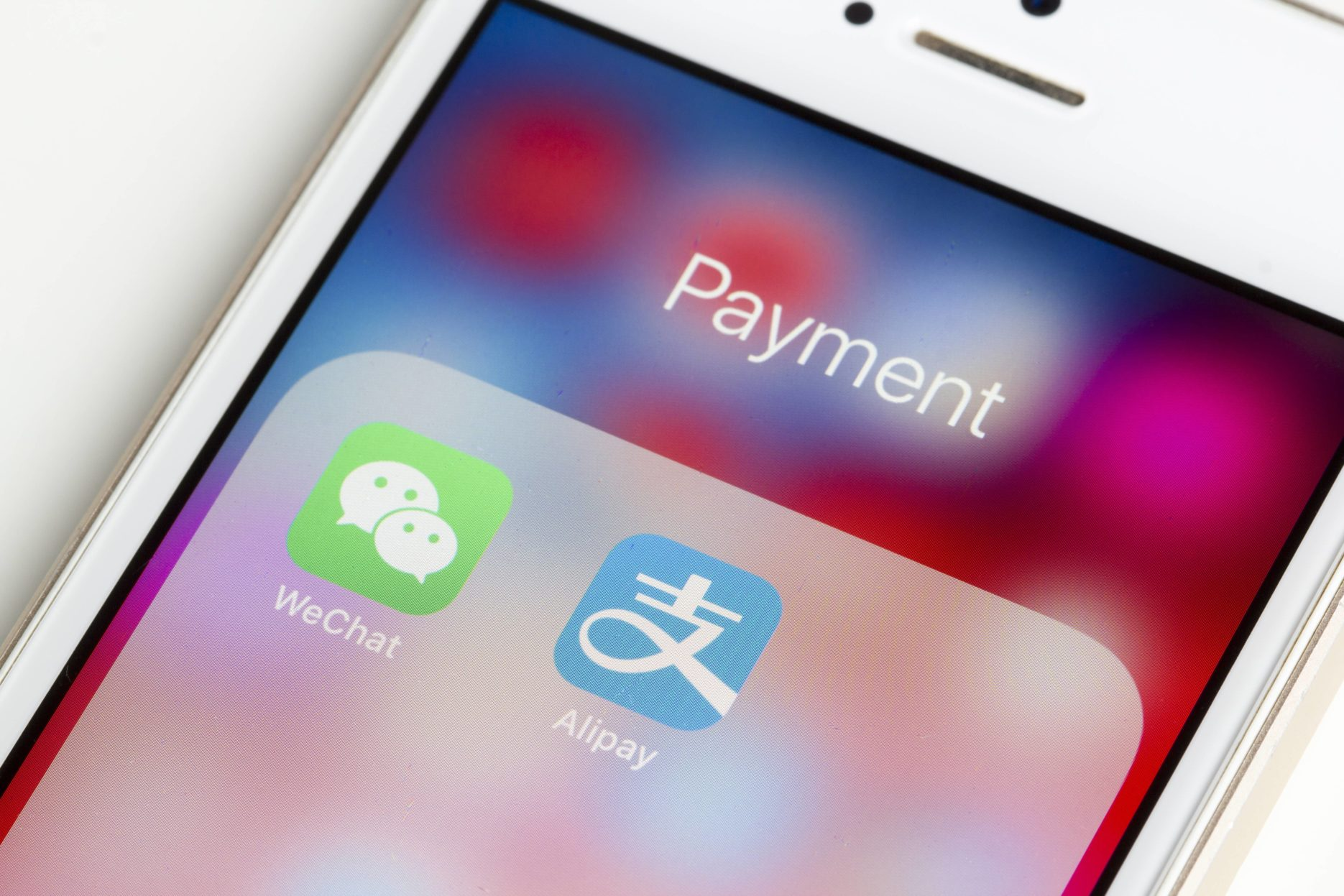 Alipay and WeChat. Credit: Adobe Stock