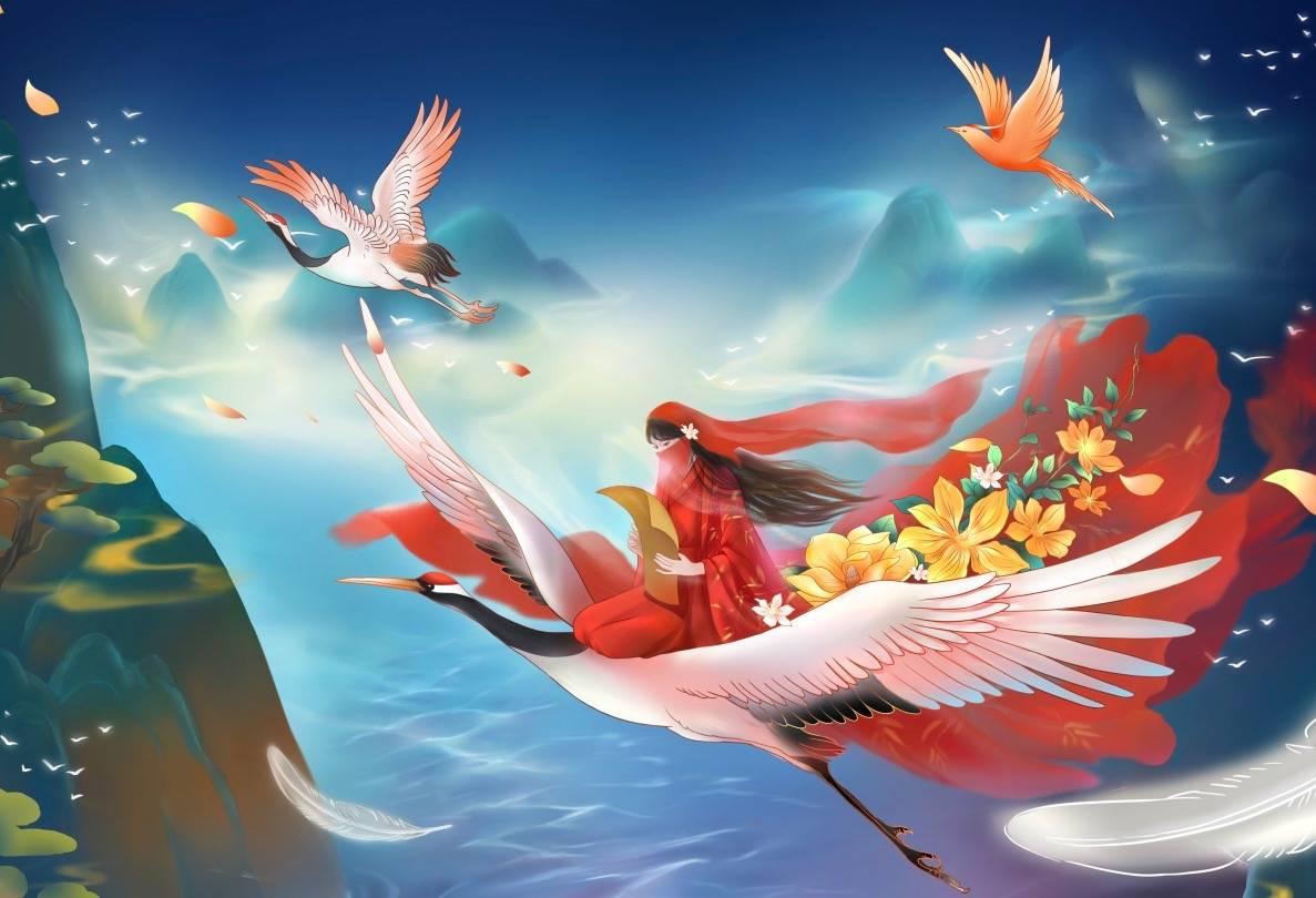 Animated Li Ziqi. Credit: Liziqi Weibo