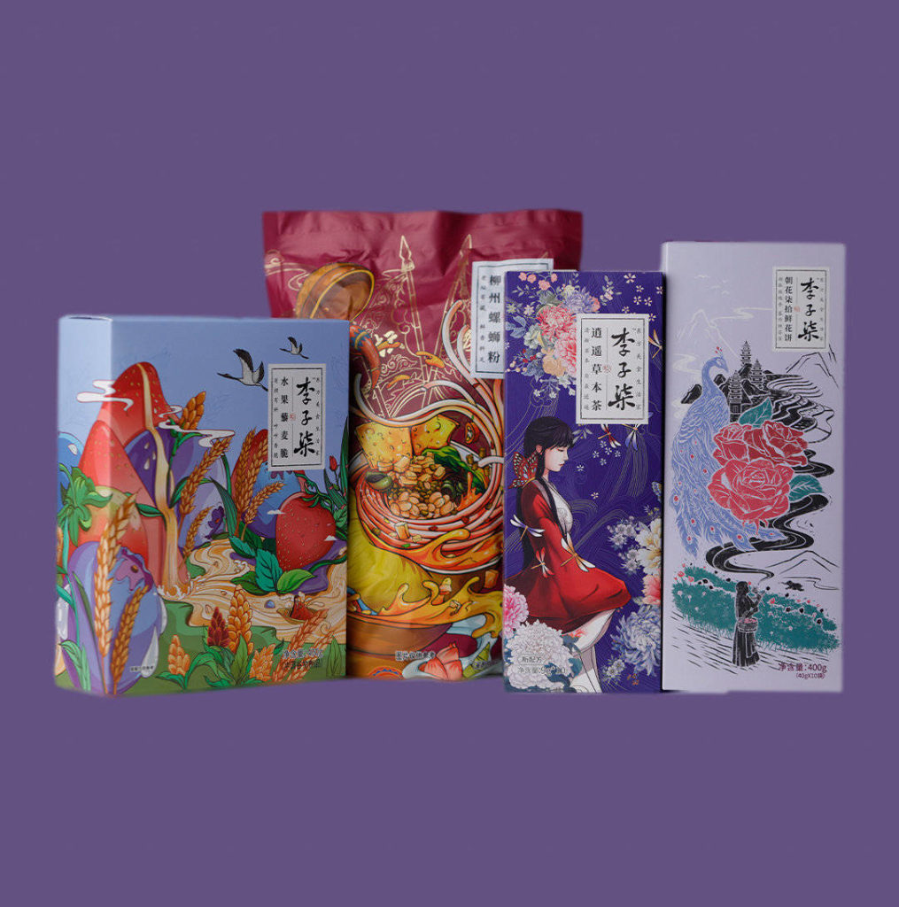 Products from Liziqi's brand