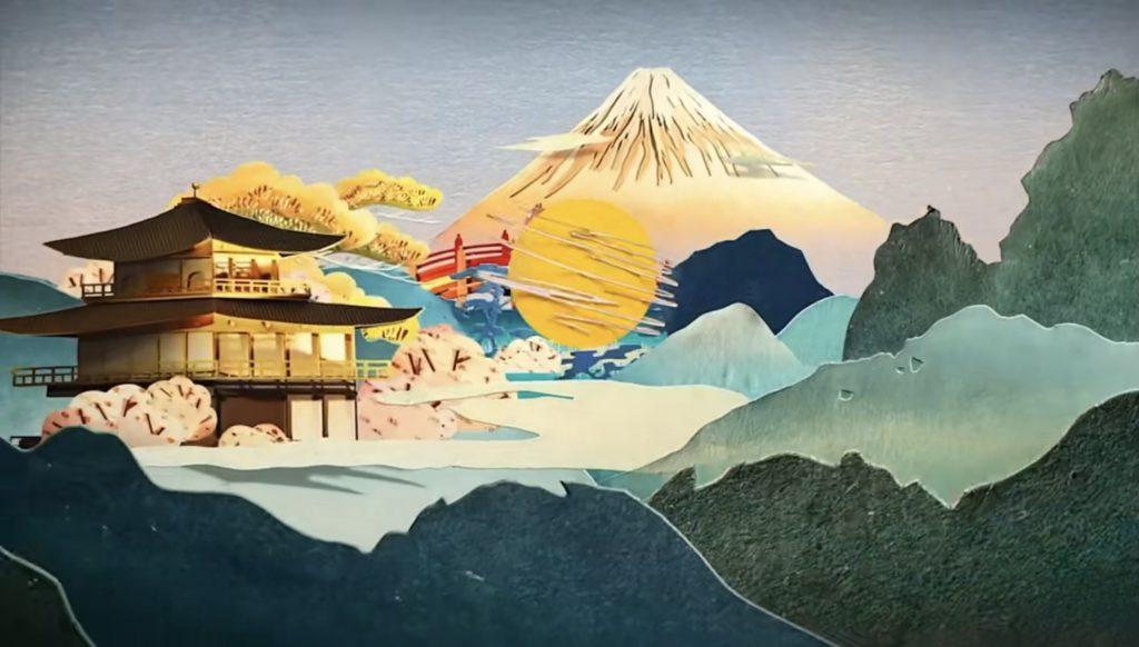 Kuaishou papercutting video for the Olympics