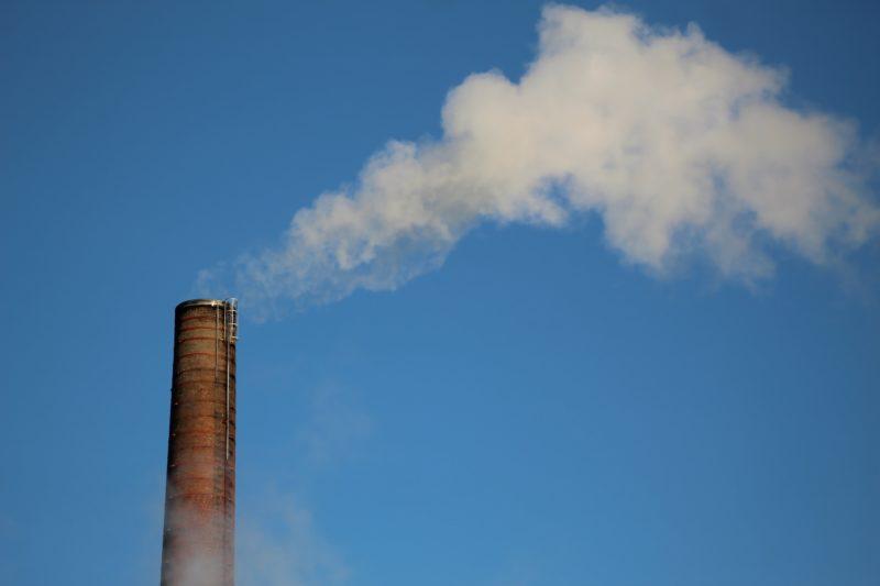 Carbon dioxide emission. Credit: Unsplash
