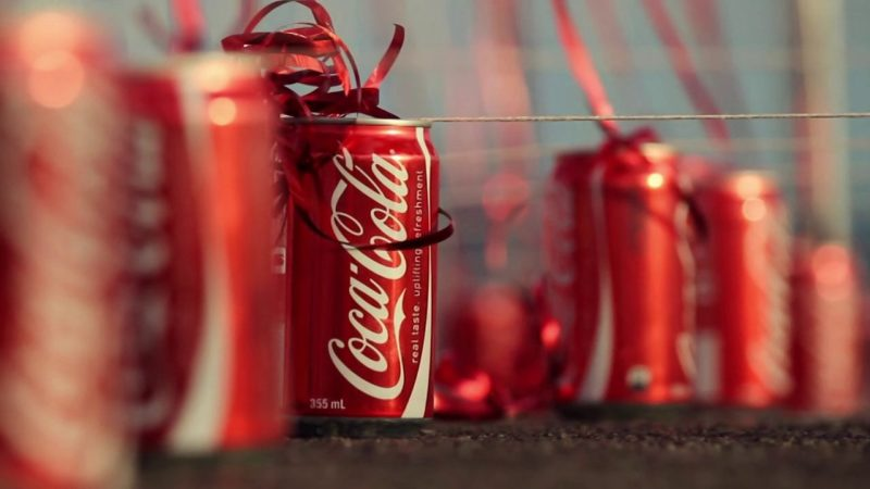 Coca-Cola bottle. Credit: Vimeo