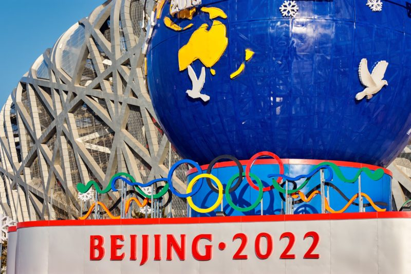 Beijing 2022 Olympics. Credit: Adobe Stock